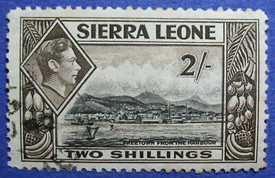1938 Sierra Leone 2S Scott# 182 Sg# 197 Used Cs06221