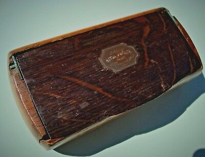 Relic of HMS ROYAL GEORGE ~ wooden snuff box