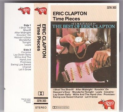 Eric Clapton - Time Pieces/ Best Of Mc Rso © 1982 West Germany Tape Cassette