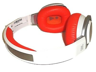 085a1050b64 JBL J55 HIGH-PERFORMANCE On-Ear Headphones (White / Orange) SOLD AS ...