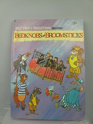 Walt Disney's productions Bedknobs and Broomsticks Book 1971 annual film movie