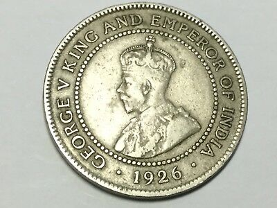 JAMAICA 1928 1 Penny coin nice condition, reverse spot