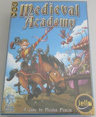 MEDIEVAL ACADEMY Board Game by Nicolas Poncin ages 8+ NEW SEALED