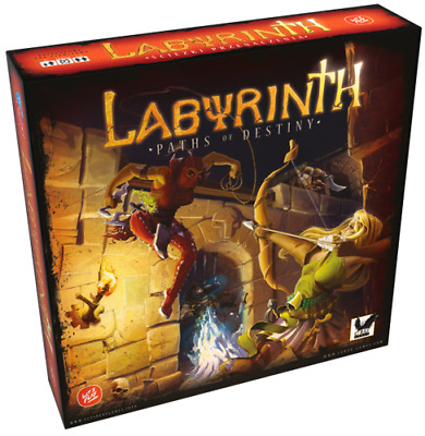 LABYRINTH PATHS OF DESTINY(3rd Edition) Board Game NEW SEALED ages 14+