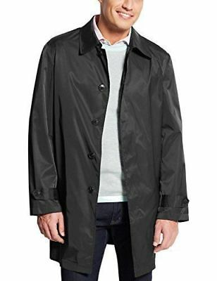 New Ralph Lauren Men black Lightweight Packable Raincoat waterproof wind block