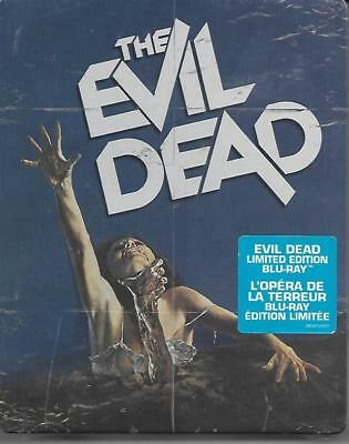 Blu-ray STEELBOOK : Evil Dead (Limited Canadian Edition, Unrated) New , OOP