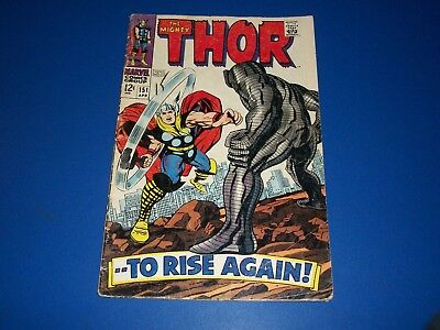 The Mighty Thor #151 Silver Age Destroyer Wow Iron Man #1 Ad