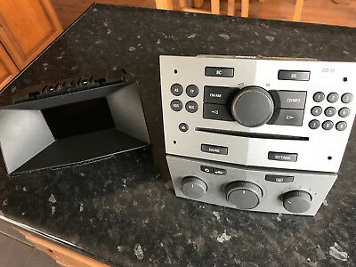 vauxhall astra h cd30 radio stereo cd mp3 aux and. Black Bedroom Furniture Sets. Home Design Ideas