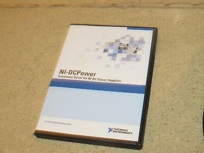 National Instruments Ni Ni-Dcpower Instrument Driver Cds- Version 1 1.1