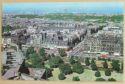Edinburgh from the Castle postcard