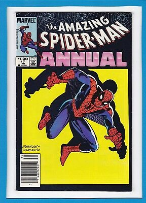 """Amazing Spider-Man Annual #17_1983_Very Fine+_Kingpin_""""heroes & Villains""""!"""