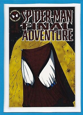 Spider-Man: The Final Adventure #1_December 1995_Nm_Clone Saga_Cardfoil Cover!