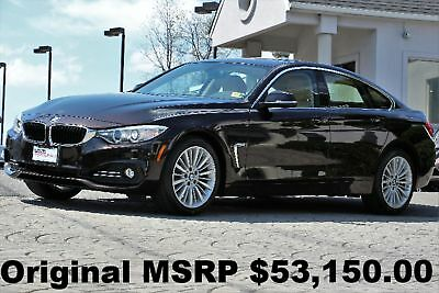 BMW 4-Series 428i xDrive Gran Coupe Luxury Line 2015 Luxury Line Technology PKG Navigation Rear Camera Head Up Display Brown
