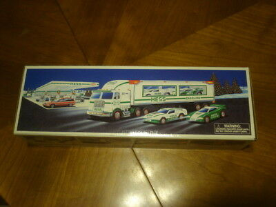 1997 Hess Toy Truck And Racers-New