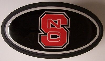 """Trailer Hitch Cover NCAA North Carolina State Wolfpack NEW 2"""" recexiver"""