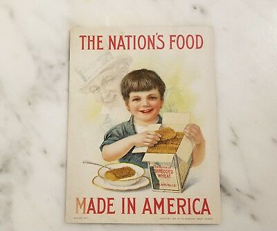 1915 Shredded Wheat Co of Niagara Falls NY Advertising Pamphlet