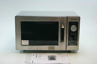 Panasonic NE-1025F Silver 1000W Commercial Microwave Oven Counter Digital Cook