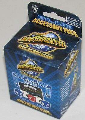 BLUE ACCESSORY PACK Monsterpocalypse New in box