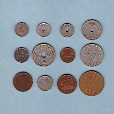 Norway (1909-1962) - Coin Collection - Lot # G - World/Foreign/Europe