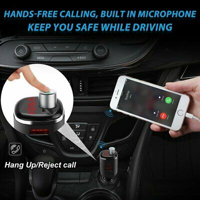 Handsfree Wireless Bluetooth Car USB Charger Kit FM Transmitter Radio MP3 Player