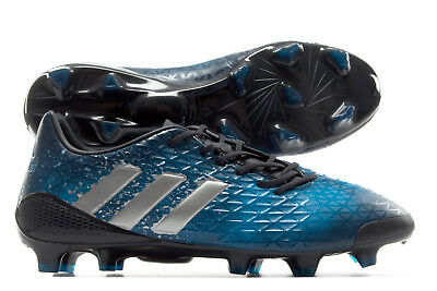adidas Mens Predator Malice Firm Ground Rugby Boots Sports Shoes Studs Navy