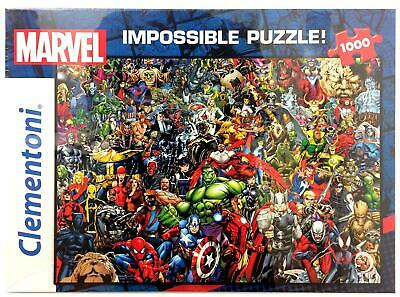 Marvel Avengers Super Heroes Impossible 1000 Pcs Jigsaw Puzzle Adults Xmas Gift