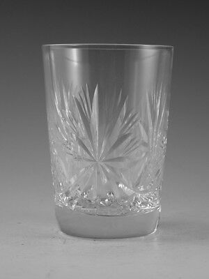"EDINBURGH Crystal - STAR of EDINBURGH - Tumbler Glass / Glasses - 3 3/8"" (1st)"