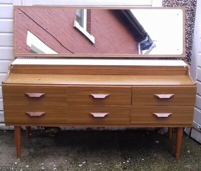 Vintage Dressing Table Retro 1960's Furniture Great Upcycle Project