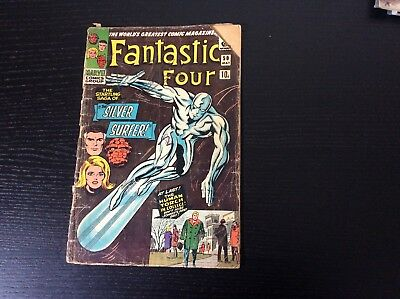 Fantastic Four 50 Silver Surfer Classic Cover Third Appearance Silver Age Marvel