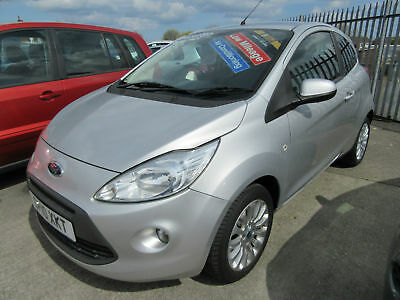 2010(10) Ford Ka 1.2 Zetec ***ONLY 38,759 MILES***AIR CON***£30 ROAD TAX***