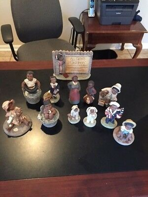 All Gods Childern Lot Of 12 Piece Collection Used