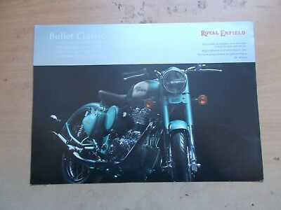 Royal Enfield Bullet Classic Sales Brochure