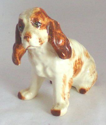 Made in Japan Glazed Porcelain 'English Cocker Spaniel' Dog Figurine