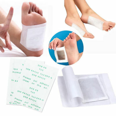 100/200Pcs Detox Foot Pads Patch Detoxify Toxins Adhesive Health Care Sleep Well
