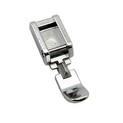 Singer White Janome Juki Cutex™ Snap-On Roller Foot For Babylock Brother