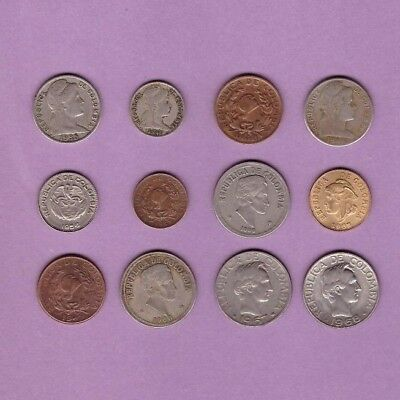 Colombia (1935-1968) - Coin Collection - Lot # X-126 - World/South America