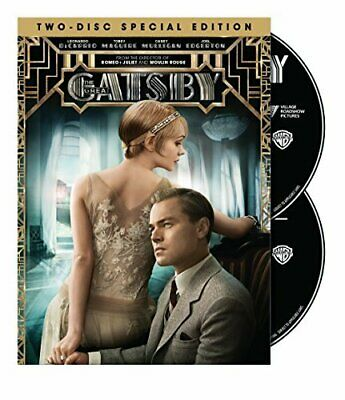 The Great Gatsby (Two-Disc Special Edition DVD) [DVD] [2013] NEW!