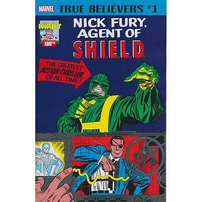 True Believers Strange Tales 135 and 141, 1st app Nick Fury Agent of SHIELD
