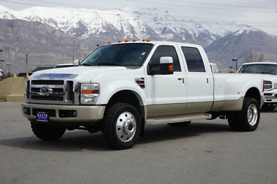 Ford Super Duty F-450 KING RANCH FORD CREW CAB KING RANCH 4X4 POWERSTROKE DIESEL DUALLY LEATHER LONGBED AUTO TOW