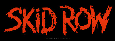 5629 Skid Row Red Logo Glam Heavy Metal Music Band Sticker / Decal New Cool Wow