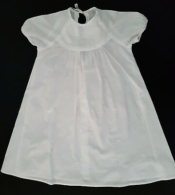VINTAGE BABY'S NIGHTGOWN ~ HANDMADE, 1960's ~ COLLECTORS, REBORN DOLLS, PHOTOS