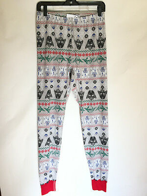 Hanna Andersson Adult Large Star Wars Pajama Bottoms Pants Organic Cotton