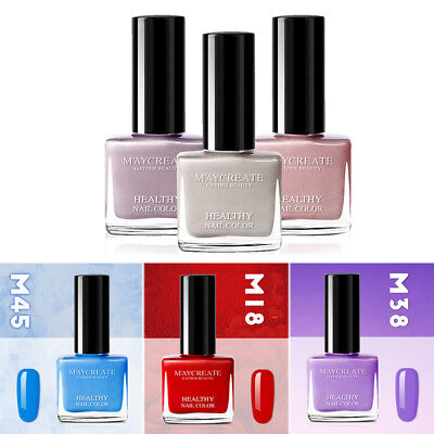 Nail Polish Lacquer Best Peelable Breathable Water-based Varnish Top Coat Base