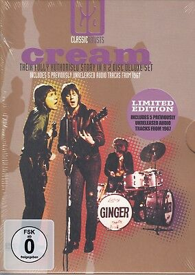 Cream / Their fully authorized story - Limited Edition  [2 DVDs] NEU! OVP