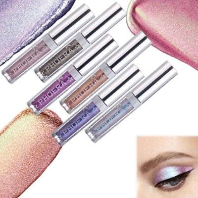 Eyeshadow Liquid Waterproof Glitter Eyeliner Shimmer Makeup Cosmetics 12colors