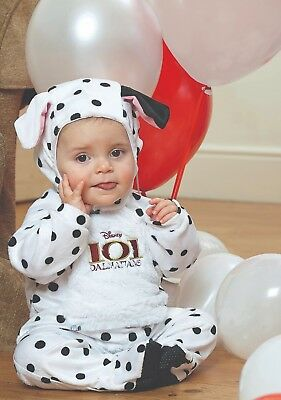 Fancy Dress Costume ~ Disney 101 Dalmations Baby Ages 3-24 Months