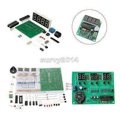 AT89C2051 Digital 4/6 Bits Electronic Clock Electronic Production Suite Kit