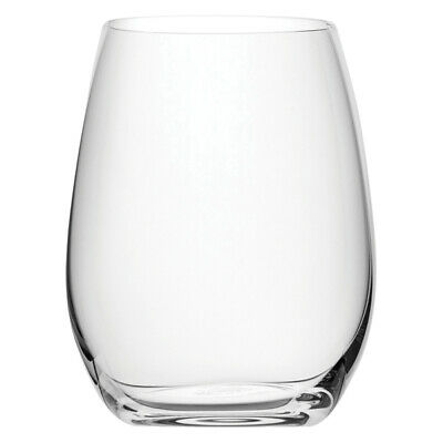 79df7e3cb77 NUDE PURE WINE & Water Tumblers 8.75oz / 250ml - Set of 6 - Stemless ...