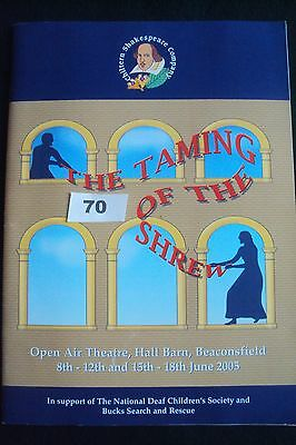 Open Air HALL BARN- Beaconsfield, TAMING OF THE SHREW, William Shakespeare 2005.