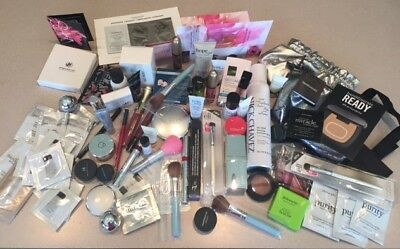 Lot of HiGH END Make-Up - 90+ Items Including  Assorted Sz - Full Size +Samples
